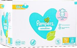 Perfumería y cosmética Toallitas húmedas para bebés sin perfume - Pampers Sensitive