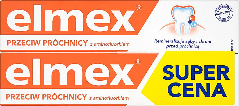 Pasta dental con aminofluoruro - Elmex Duopack (2uds. x 75ml) — imagen N1