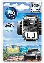 Perfumería y cosmética Ambientador de coche, sky - Ambi Pur (difusor/1ud+relleno/7ml)