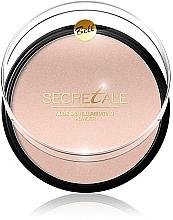Perfumería y cosmética Polvo iluminador para rostroy cuerpo con mica - Bell Secretale Nude Skin Illuminating Powder