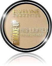 Perfumería y cosmética Eveline Cosmetics Highlighter Pressed Powder Art Professional Make-up - Polvo iluminador cremoso y compacto