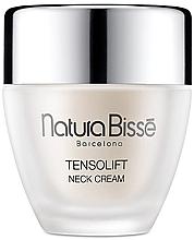 Perfumería y cosmética Crema para cuello y escote con ácido hialurónico y aceite de amaranto - Natura Bisse Tensolift Neck Cream