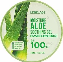 Perfumería y cosmética Gel calmante natural para rostro y cuerpo con extracto de aloe vera - Lebelage Moisture Aloe 100% Soothing Gel