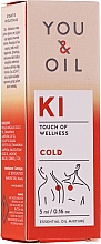 Perfumería y cosmética Mezcla de aceites esenciales para resfriado - You & Oil KI-Cold Touch Of Wellness Essential Oil