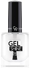 Perfumería y cosmética Top coat, efecto gel - Golden Rose Extreme Gel Shine Miracle Top Coat