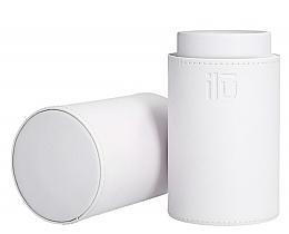 Perfumería y cosmética Caja para brochas y pinceles, blanca - Ilu White Brush Tube