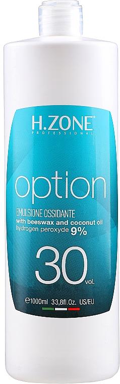 Oxidante profesional, 30vol 9% - H.Zone Option Oxy — imagen N1