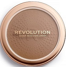 Perfumería y cosmética Polvo bronceador - Makeup Revolution Mega Bronzer
