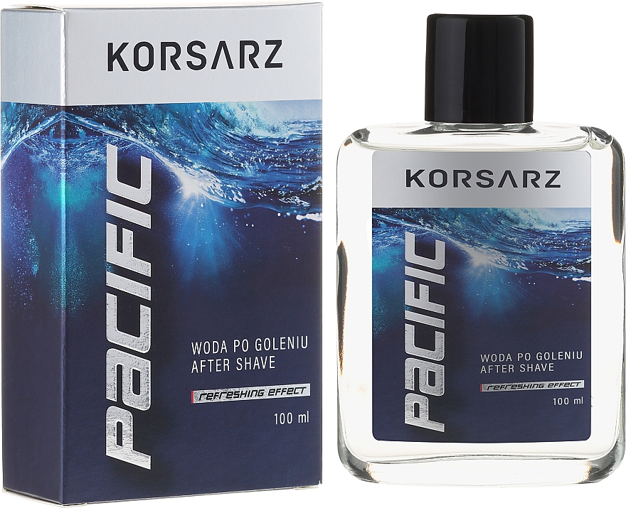 Loción aftershave refrescante con mentol - Pharma CF Korsarz After Shave Lotion
