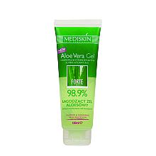 Perfumería y cosmética Gel corporal calmante con aloe vera, camomila y vitaminas B y E - Mediskin Aloe Vera Forte Gel