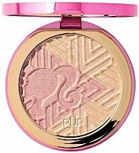 Perfumería y cosmética Iluminador facial con vitamina B, sin parabenos - Pur X Barbie Confident Glow Signature Illuminating Highlighter