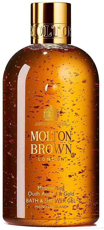 Molton Brown Mesmerising Oudh Accord & Gold - Gel de ducha y baño