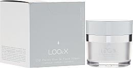 Perfumería y cosmética Mascarilla revitalizante para rostro y contorno de ojos con extracto de uva - LOOkX O2 Relax Eye & Face Mask