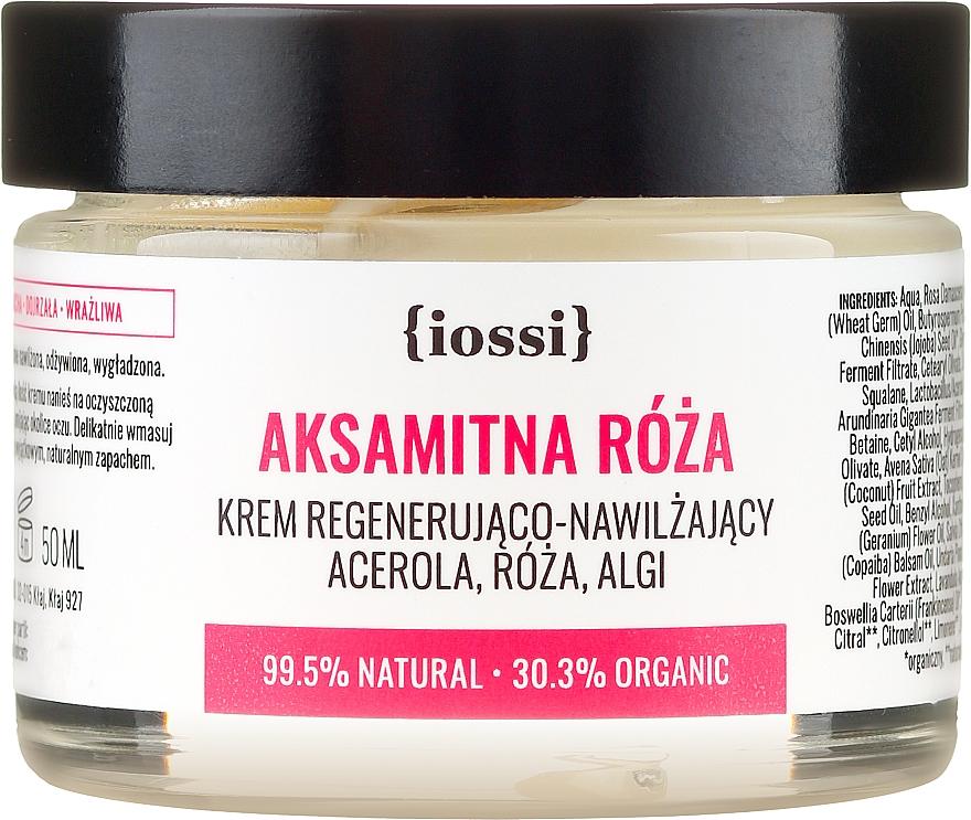 Crema regeneradora e hidratante con extracto de acerola y algas pardas - Iossi Regenerating Cream