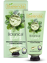 Perfumería y cosmética Crema facial con arcilla verde - Bielenda Botanical Clays Vegan Day Night Cream Green Clay