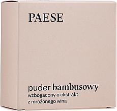 Perfumería y cosmética Polvo suelto de bambú enriquecido con vino helado - Paese Bamboo Powder With Silk And Frozen Wine Extract