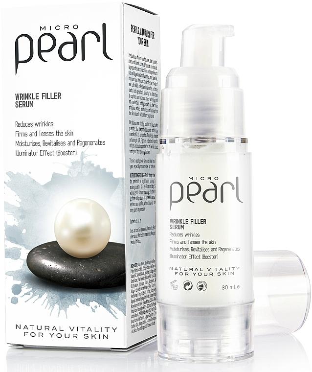 Sérum rellenador de arrugas con polvo micronizado de perla - Diet Esthetic Micro Pearl Serum — imagen N1