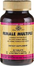 Perfumería y cosmética Complemento alimenticio en cápsulas para el bienestar femenino - Solgar Female Multiple