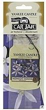 Perfumería y cosmética Ambientador de coche con aroma a jazmín - Yankee Candle Midnight Jasmine Jar Classic