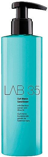 Acondicionador con extracto de bambú y aceite de oliva para cabello rizado - Kallos Cosmetics Lab 35 Curl Conditioner
