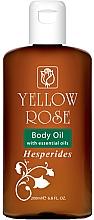 Perfumería y cosmética Aceite corporal con cítricos - Yellow Rose Body Oil Hesperides
