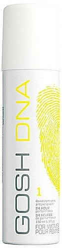 Desodorante antitranspirante floral fresco - Gosh DNA For Women 1