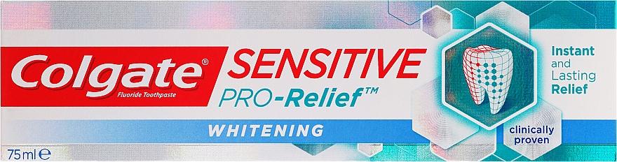 Pasta dental blanqueadora con mentol y aceite de menta - Colgate Snsitive Pro-Relief Whitening Toothpaste — imagen N1