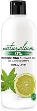 Perfumería y cosmética Gel de ducha perfumado - Naturalium Herbal Lemon Shower Gel