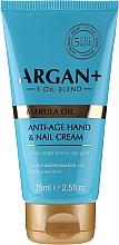Perfumería y cosmética Crema de manos y uñas enriquecida con 5 aceites - Argan+ Anti Age Hand & Nail Cream