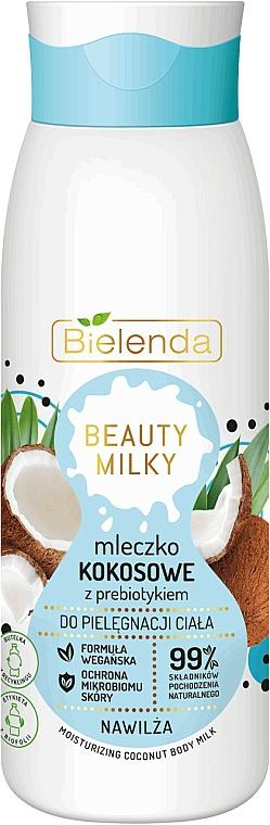 Leche corporal hidratante con coco - Bielenda Beauty Milky Moisturizing Coconut Body Milk