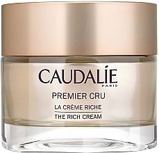 Perfumería y cosmética Crema facial antiarrugas con ácido hialurónico y karité - Caudalie Premier Cru La Creme Riche