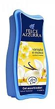 Perfumería y cosmética Gel absorbente de olores con aroma a azahar y vainilla - Felce Azzurra Gel Air Freshener Vanilla & Monoi