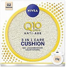 Perfumería y cosmética BB cushion antiedad - Nivea Q10 Plus Anti-Aging Radiance BB Cushion