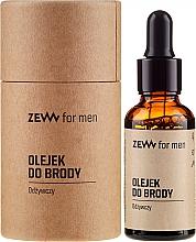 Perfumería y cosmética Aceite nutritivo para barba con coco y lavanda - Zew For Men Nourishing Beard Oil