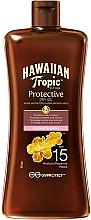 Perfumería y cosmética Aceite seco de protección solar SPF15 - Hawaiian Tropic Protective Oil SPF 15