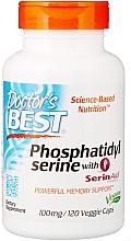 Perfumería y cosmética Complemento alimenticio de Fosfatidilserina con SerinAid, 100mg en cápsulas blandas - Doctor's Best