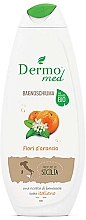 Perfumería y cosmética Gel de ducha con flor de naranjo - Dermomed Bath Foam Fiori D'Arancio