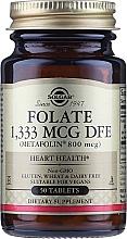 Perfumería y cosmética Complemento alimenticio ácido fólico (metafolin 800 mcg) - Solgar