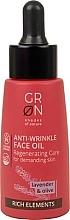 Perfumería y cosmética Aceite facial antiedad con lavanda y oliva - GRN Rich Elements Lavender & Olive Face Oil