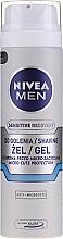 Perfumería y cosmética Gel de afeitar con extracto de camomila y sin alcohol - Nivea For Men Shaving Gel