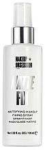 Perfumería y cosmética Spray fijador de maquillaje matificante para pieles grasas - Makeup Obsession Matte Fix