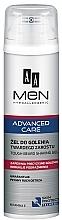 Perfumería y cosmética Gel de afeitar hipoalergénico con vitamina E - AA Men Advanced Care Tough Beard Shaving Gel