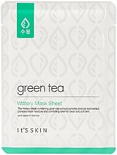 Perfumería y cosmética Mascarilla facial de tejido con extracto de té verde - It's Skin Green Tea Watery Mask Sheet
