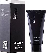 Perfumería y cosmética Mascarilla facial peel-off para puntos negros con carbón activado - Pilaten Hydra Suction Black Mask