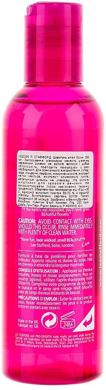 Champú para crecimiento de cabello con extracto de cactus - Lee Stafford Hair Growth Shampoo — imagen N2