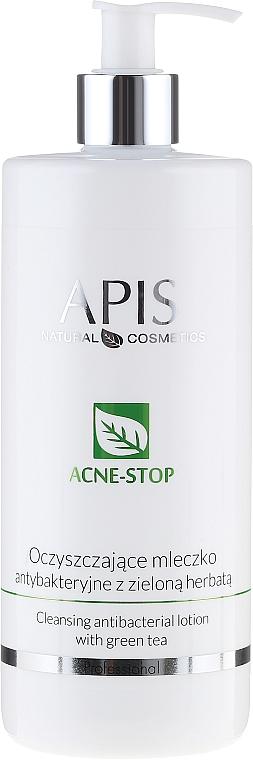 Loción limpiadora antibacteriana con té verde - APIS Professional Cleansing Antibacterial Lotion