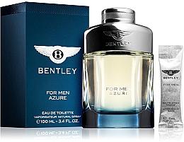 Perfumería y cosmética Bentley Bentley For Men Azure - Set (eau de toilette/100ml + bálsamo aftershave/mini/5ml)