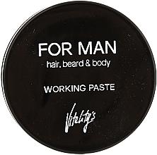 Perfumería y cosmética Pasta moldeadora de cabello, mate - Vitality's For Man Working Paste