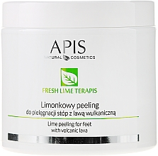 Perfumería y cosmética Exfoliante para pies con lava volcánica - APIS Professional Fresh Lime Terapis Lime Peeling For Feet With Volcanic Lava