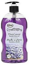 Perfumería y cosmética Jabón de manos líquido con lavanda y aloe vera - Bluxcosmetics Naturaphy Hand Soap